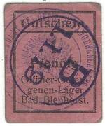 1 Pfennig (Bad Blenhorst; Officer PoW Camp)) – avers