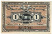 1 Pfennig (Brandenburg; PoW Camp) – avers