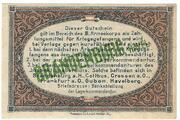 1 Pfennig (Brandenburg; PoW Camp) – revers