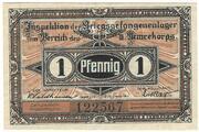 1 Pfennig (Crossen; PoW Camp) – avers