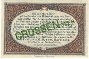 1 Pfennig (Crossen; PoW Camp) – revers
