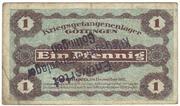 1 Pfennig (Gottingen; PoW Camp) – avers