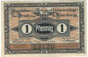 1 Pfennig (Guben; PoW Camp) – avers