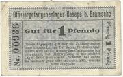 1 Pfennig (Hesepe; Officer PoW Camp) – avers