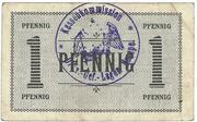 1 Pfennig (Hesepe; Officer PoW Camp) – revers
