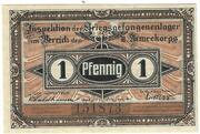 1 Pfennig (Havelberg; PoW Camp) – avers