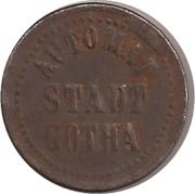 10 Pfennig (Gotha) -  avers