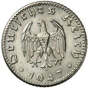 50 Reichspfennig (Allied Occupation - Pattern) – avers