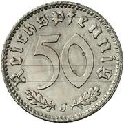 50 Reichspfennig (Allied Occupation - Pattern) – revers