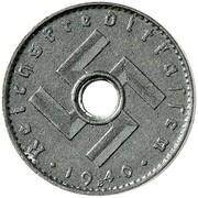 5 Reichspfennig (military coinage - Pattern) – avers