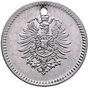 1 Pfennig - Wilhelm I (type 1 - large shield - Pattern) – avers