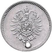 1 Pfennig - Wilhelm I (type 1 - large shield - Pattern) – revers
