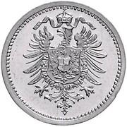 1 Mark - Wilhelm I (Pattern) – avers