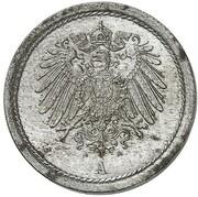10 Pfennig - Wilhelm II (Pattern) – avers