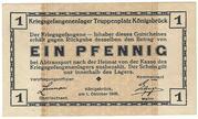 1 Pfennig (Konigsbruck; PoW Camp) – avers
