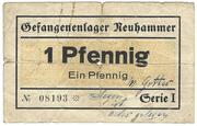1 Pfennig (Neuhammer; PoW Camp) – avers