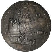 Admiral von Tirpitz - Unrestricted Submarine Warfare Medallion – revers