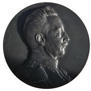 Kaiser Wilhelm II ''Zu den Waffen'' 1914 war medal – avers