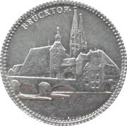 1 Mark - Regensburg (tram) – avers