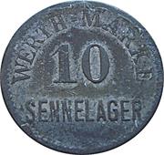 10 Werth-Marke - Sennelager – avers