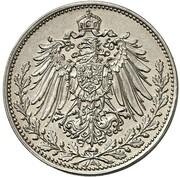 25 Pfennig - Wilhelm II (Pattern) -  avers