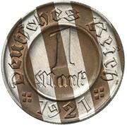 1 Pfennig (Pattern) – revers