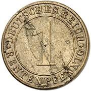 1 Rentenpfennig  (Pattern) – revers