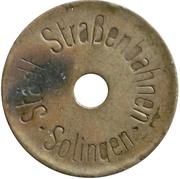 Jeton - Solingen (Strassenbahn) – avers