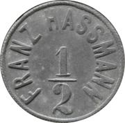 ½ mark - Trnowan (Franz Hassmann) – avers