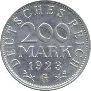 200 marks -  revers