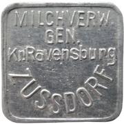 1 Liter - Zussdorf (Milchverw. Gen. Kr. Ravensburg) – avers