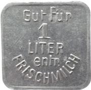 1 Liter - Zussdorf (Milchverw. Gen. Kr. Ravensburg) – revers