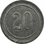 Token - 20 (Hans Osswald) – avers
