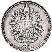 1 Pfennig - Wilhelm II (Pattern) – avers