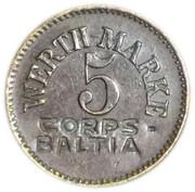 5 pfennig (Königsberg) (Ostpreussen) – avers