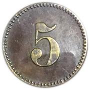 5 pfennig (Königsberg) (Ostpreussen) – revers