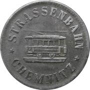 15 pfennig (Chemnitz - Strassenbahn) – avers