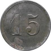 15 pfennig (Chemnitz - Strassenbahn) – revers