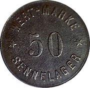 50 Wert Marke - Sennelager – avers