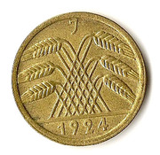 50 rentenpfennig -  avers