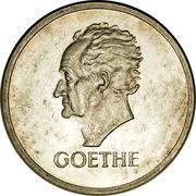 5 reichsmark (Goethe) – revers