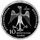 10 deutsche mark Henry le Lion – avers