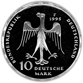 10 Deutsche Mark Henry Le Lion Allemagne République Fédérale