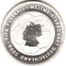 10 euros Coupe du monde 2006 (edition 2003) – revers