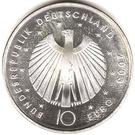 10 euros Coupe du monde 2006 (edition 2003) – avers