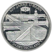10 euros Métro en Allemagne – revers