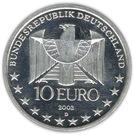 10 euros Métro en Allemagne – avers