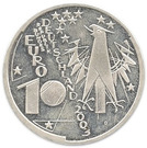 10 euros Deutsches Museum – avers