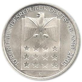 10 Euros Bertha Von Suttner Allemagne République Fédérale Numista