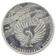 10 euros Wolfgang Amadeus Mozart – avers